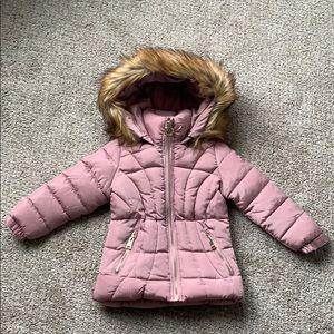 Girls Blush Winter Coat